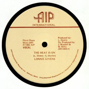GIVENS, Lonnie - The Heat Is On (reissue)