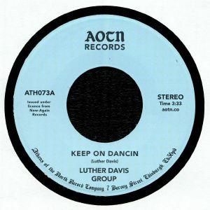 LUTHER DAVIS GROUP - Keep On Dancin