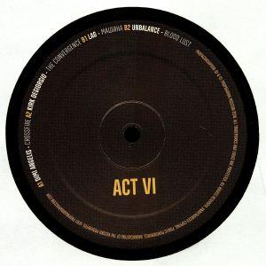 ANGELIS, Dimi/KIRK DEGIORGIO/LAG/UNBALANCE - Act VI