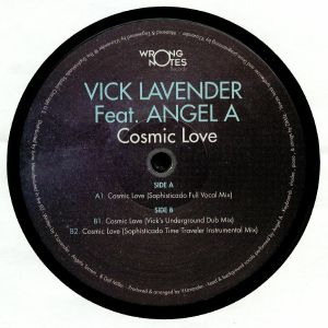 LAVENDER, Vick feat ANGEL A - Cosmic Love