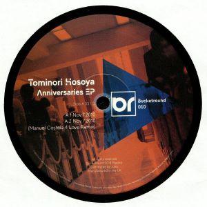 HOSOYA, Tominori - Anniversaries EP (Manuel Costela, Ney Faustini remixes)