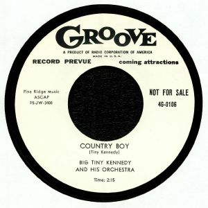 BIG TINY KENNEDY & HIS ORCHESTRA - Country Boy (reissue)