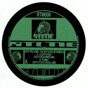 WILLIAMS, Nate - The Roy Davis Jr Remixes