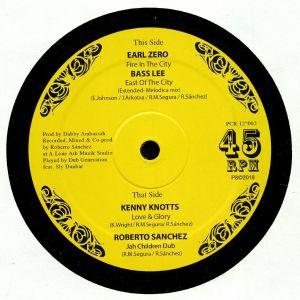 EARL ZERO/BASS LEE/KENNY KNOTTS/ROBERTO SANCHEZ - Fire In The City