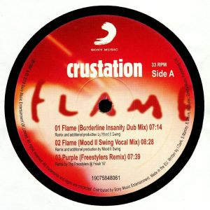 CRUSTATION - Flame (reissue)