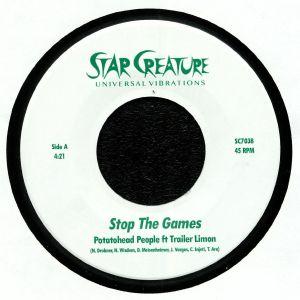 POTATOHEAD PEOPLE feat TRAILER LIMON - Stop The Games