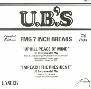 UB'S, The - Uphill Peace Of Mind