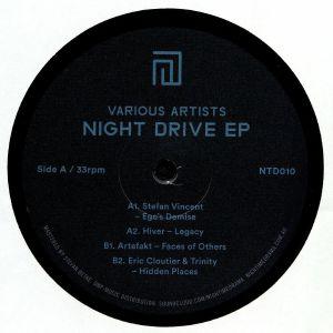 VINCENT, Stefan/HIVER/ARTEFAKT/ERIC CLOUTIER/TRINITY - Night Drive EP