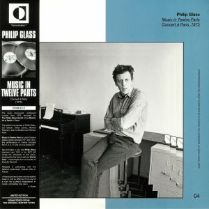 GLASS, Philip - Music In Twelve Parts: Concert A Paris 1975