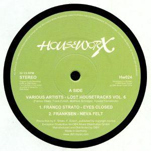 STRATO, Franco/FRANKSEN/MS/YUSUKE YAMAMMOTO - Lost House Tracks Vol 6