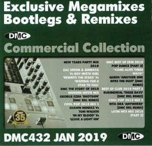 VARIOUS - DMC Commercial Collection January 2019: Exclusive Megamixes Bootlegs & Remixes (Strictly DJ Only)