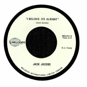 JACOBS, Jack - I Believe It's Alright