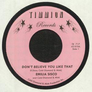 SISCO, Emilia/COLD DIAMOND & MINK - Don't Believe You Like That