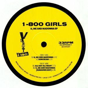 1 800 GIRLS - U Me & Madonna EP