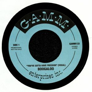 BOOGALOO - You've Gotta Have Freedom