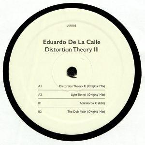 DE LA CALLE, Eduardo - Distortion Theory III