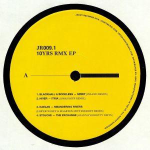 BLACKHALL & BOOKLESS/HIVER/KAELAN/STOJCHE - 10 Yrs Rmx EP1