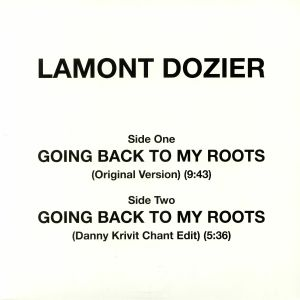 DOZIER, Lamont - Going Back To My Roots
