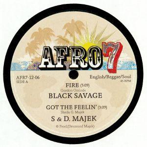 BLACK SAVAGE/S & D MAJEK/OVID - Kenya 1980s: CBS EP