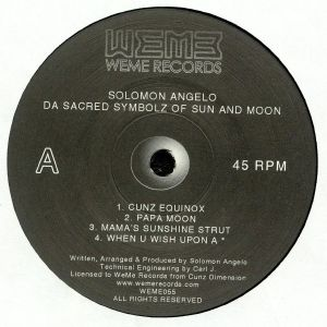 ANGELO, Solomon - Da Sacred Symbolz Of Sun & Moon