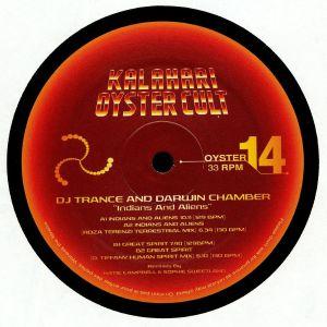 DJ TRANCE/DARWIN CHAMBER - Indians & Aliens