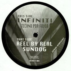 INFINITI aka JUAN ATKINS/REEL BY REAL - Techno Por Favor