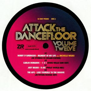 D'AMBROSIO, Bobby/CARLOS ROMANOS/JOEY NEGRO/THE APX - Attack The Dancefloor Vol 12