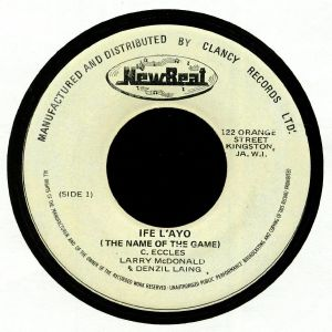 ECCLES, C/LARRY McDONALD/DENZIL LAING/THE FABULOUS FLAMES - Ife L'Ayo (The Name Of The Game)