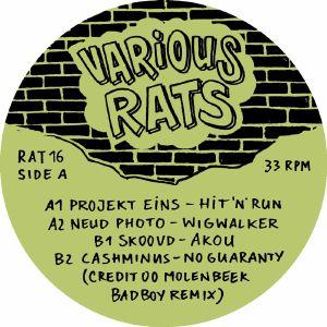 PROJEKT EINS/NEUD PHOTO/SKOOVD/CASHMINUS - Various Rats