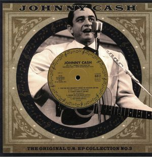 CASH, Johnny - The Original US EP Collection No 3