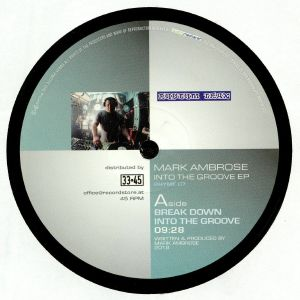 AMBROSE, Mark - Into The Groove EP