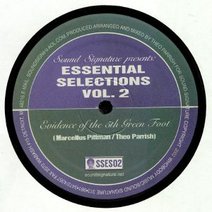 PARRISH, Theo/MARCELLUS PITTMAN - Essential Selections Volume 2 (reissue)