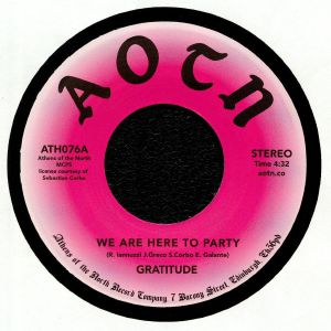 GRATITUDE - We Are Here To Party