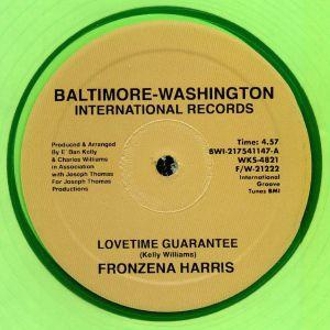 HARRIS, Fronzena - Lovetime Guarantee (reissue)