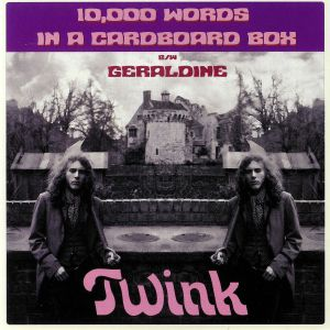 TWINK/ZION DE GALLIER - 10000 Words In A Cardboard Box