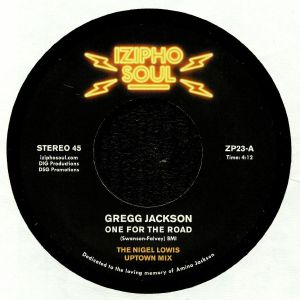 JACKSON, Gregg - One For The Road (reissue)