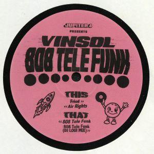VIN SOL - 808 Tele Funk EP