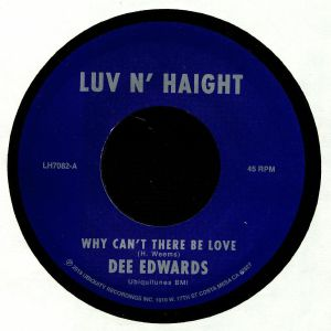 EDWARDS, Dee - Why Can't There Be Love
