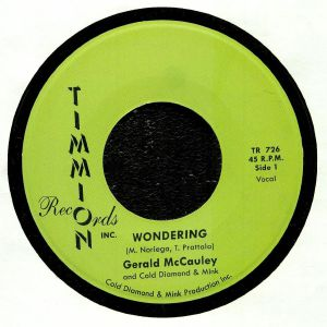 McCAULEY, Gerald/COLD DIAMOND & MINK - Wondering