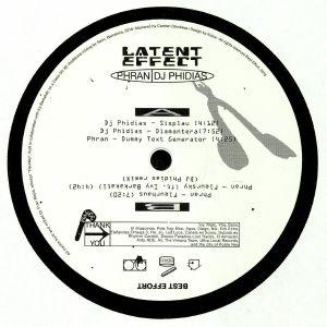 PHRAN/DJ PHIDIAS - Latent Effect