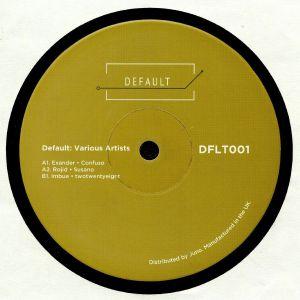 EXANDER/ROJID/IMBUE - Default: Various Artists