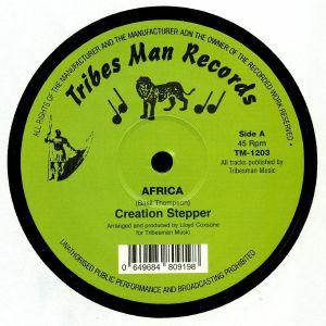 CREATION STEPPER/PEBBLES - Africa