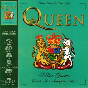 QUEEN - Killer Queens: Buenos Aires 28th February 1981 (Japan Edition)