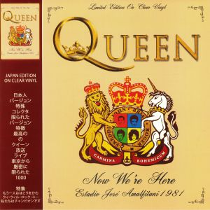 QUEEN - Now We're Here: Buenos Aires 28th February 1981 (Japan Edition)