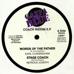 CUNNINGHAM, Earl/NERIOUS JOSEPH/CHUCKIE STAR/MAFIA & FLUX/IGAP - Coach Riddim EP