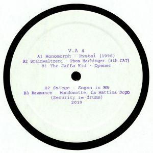 MONOMORPH/BRAINWALTZERA/THE JAFFA KID/SSIEGE/RAWMANCE - VA 4