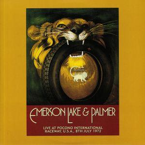 EMERSON LAKE & PALMER - Live at Pocono International Raceway USA 8th July 1972 (Record Store Day 2019)