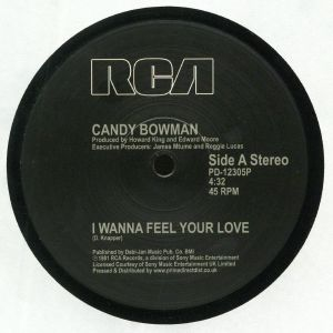 BOWMAN, Candy - I Wanna Feel Your Love (reissue) (Record Store Day 2019)