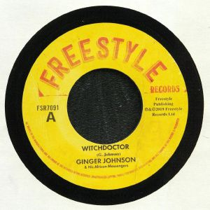 JOHNSON, Ginger & HIS AFRICAN MESSENGERS - Witchdoctor (Record Store Day 2019)