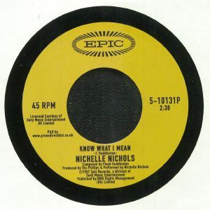 NICHOLS, Nichelle - Know What I Mean (Record Store Day 2019)